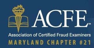 Maryland Chapter 21 of Association of Certified Fraud Examiners